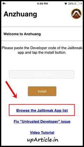 Jailbreak iOS 10 to iOS 12