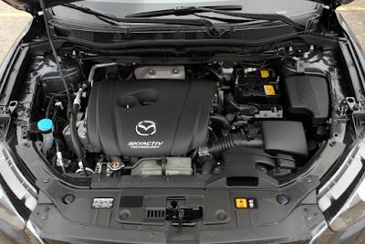 Foto Mesin Mazda CX-5 2.5 Liter