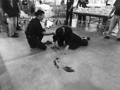 ထိုုင္းနိုုင္ငံ ကုုန္တိုုက္ၾကီးအတြင္း ပစ္ခတ္မွုု ျဖစ္ပြား ကိုုယ္၀န္ေဆာင္ အမ်ိဳးသမီး တဦးေသဆံုုး