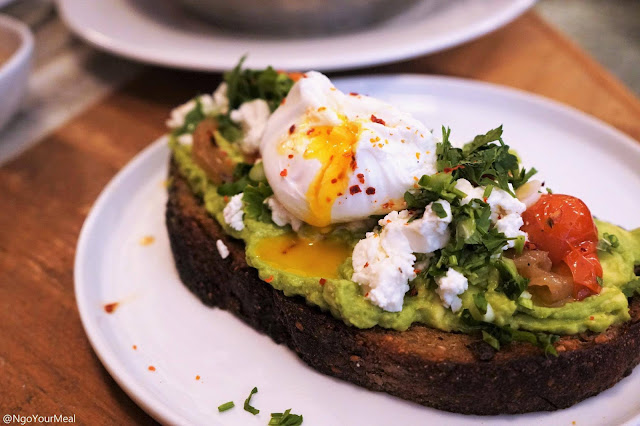 Avocado Toast at Kubeh in New York City