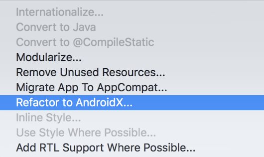 Hello World, AndroidX