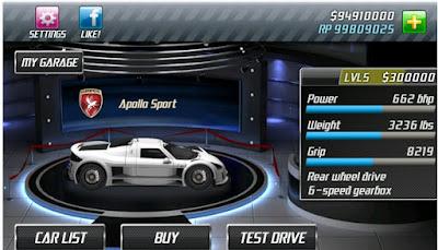 Drag Racing V1.6.86 MOD Lots of Money