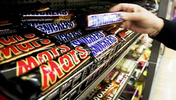 Snickers, Mars Bars and Milky Way  Recalled