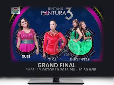 GRAND FINAL Bintang Pantura 3 Susi, Tika, Duo Intan Rabu 19 Oktober 2016