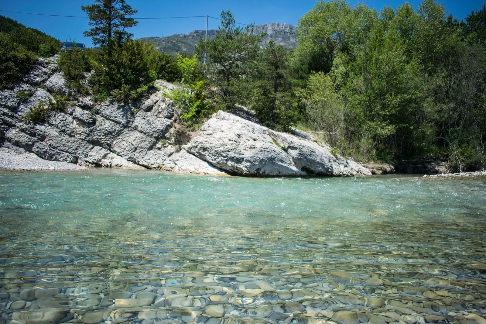 eau turquoise