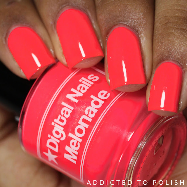 Digital Nails Melonade Creme a la Mode Summer 2016
