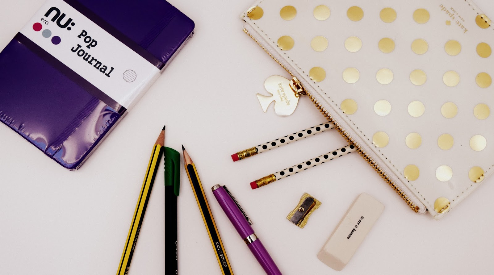 Kate Spade pencil pouch stationery