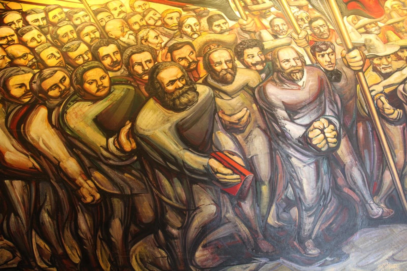 Comunidades de poblaci n en resistencia c p r urbana for El mural de siqueiros