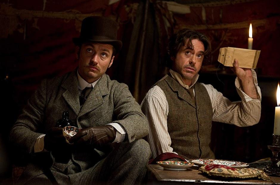 """""""Sherlock Holmes 3"""" pode ser o próximo trabalho de Robert Downey Jr."""