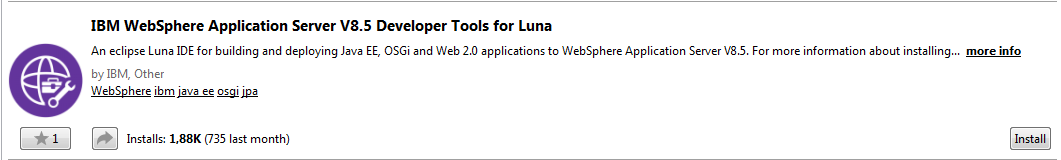 Using WebSphere 8 5 5 with Eclipse ~ DevOps Insight