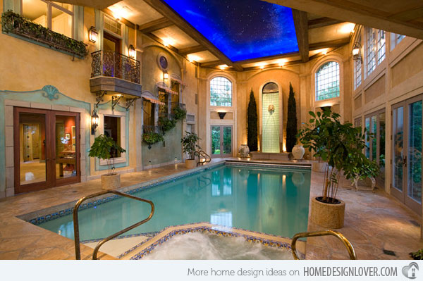 Indoor Swimming Pool Design Ideas