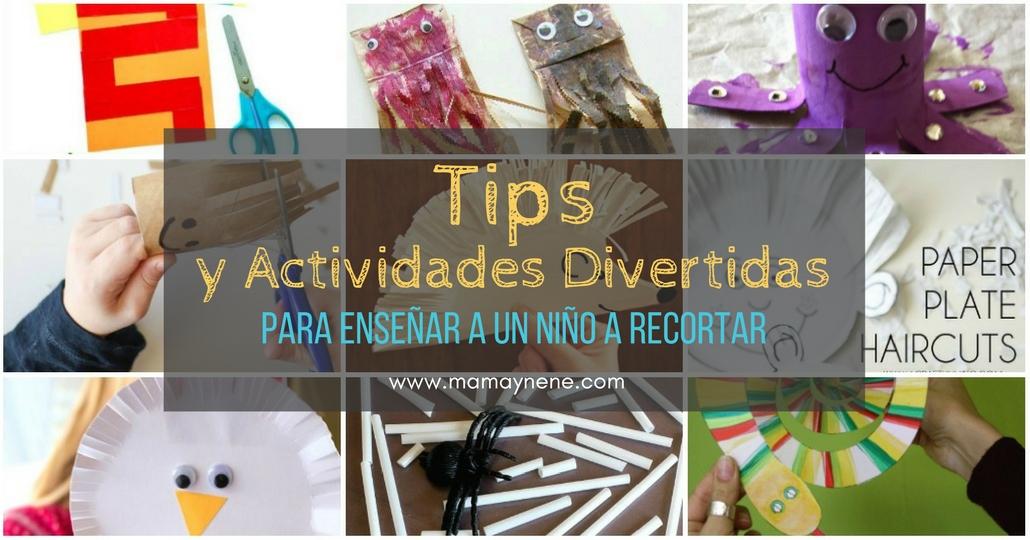 Tips y actividades divertidas para enseñar a un niño a recortar