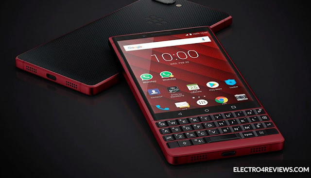 TCL offers a red version of BlackBerry Key2 at conference # MWC19