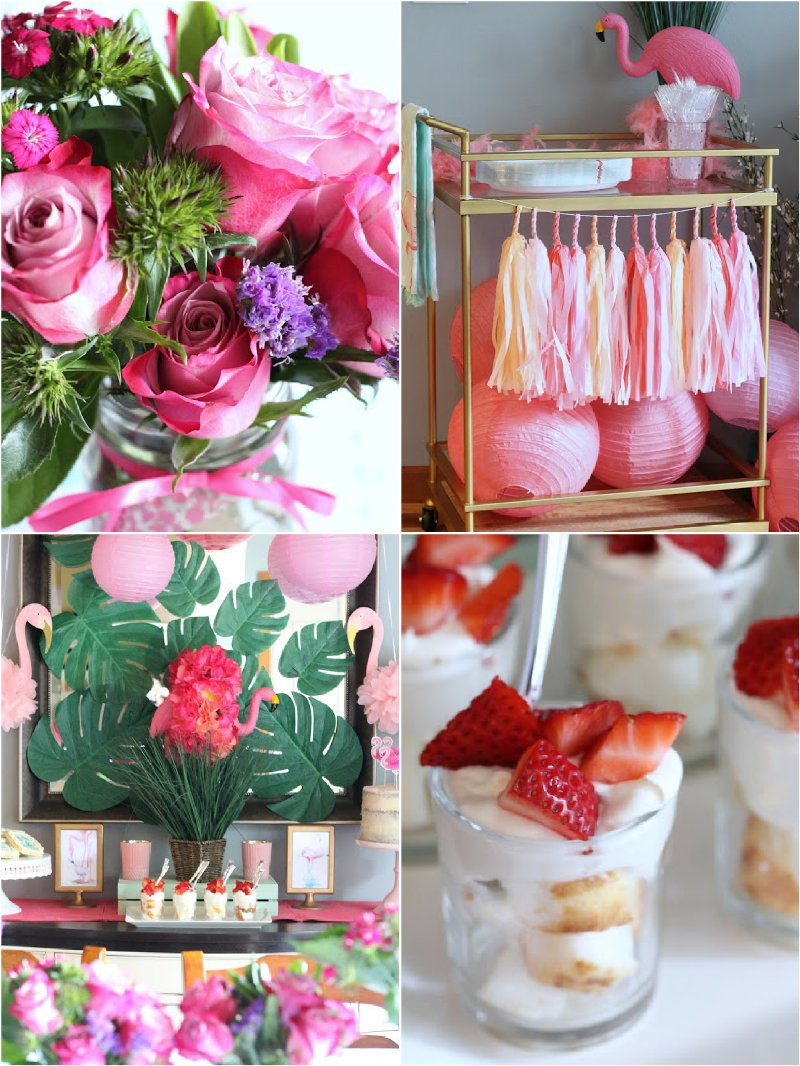 Flamingo party ideas via BirdsParty.com @birdsparty