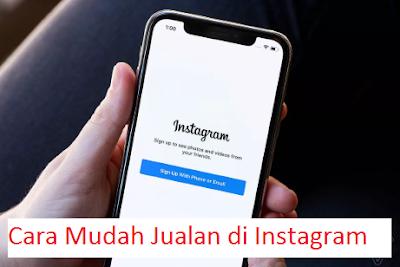 Cara Mudah Jualan di Instagram