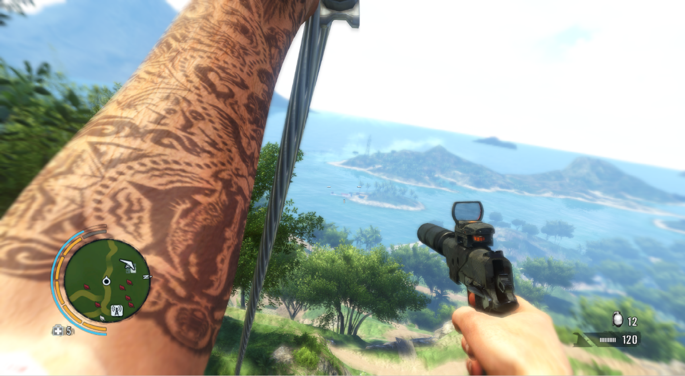 far cry 3 jason brody tattoo