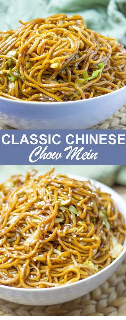 Classic Chinese Chow Mein