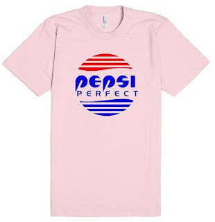 Pepsi Perfect Cafe 80's T-shirt for Men