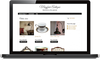 Create antiques online store