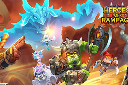 Download Game Android Heroes of rampage! RPG Online