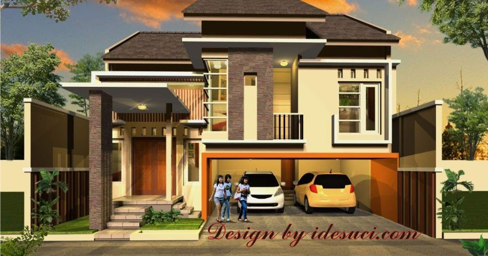 gambar desain rumah etnik jawa modern   gambar puasa