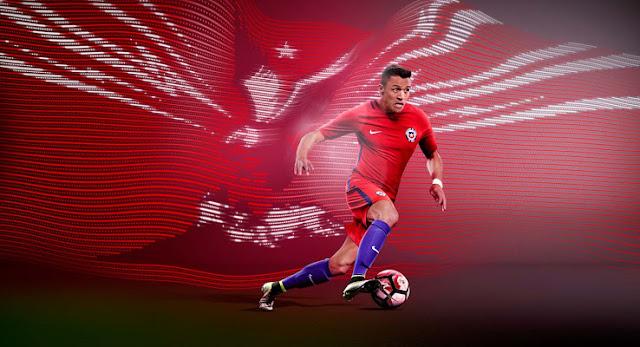 Chile Copa America 2016 Kits Released