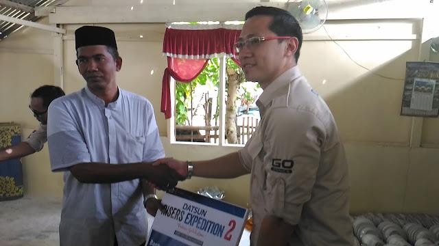 Datsun Salurkan CSR di Desa Dayah Tanoh, Pidie