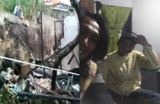 Setelah Bakar Rumah Orang Tua, Pemuda Ini Minta Maaf di Video Sambil Cengengesan
