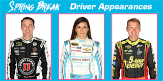 Harvick, Patrick And Bowyer To Appear At Budweiser Roll-Bar Club Prior To Good Sam 500