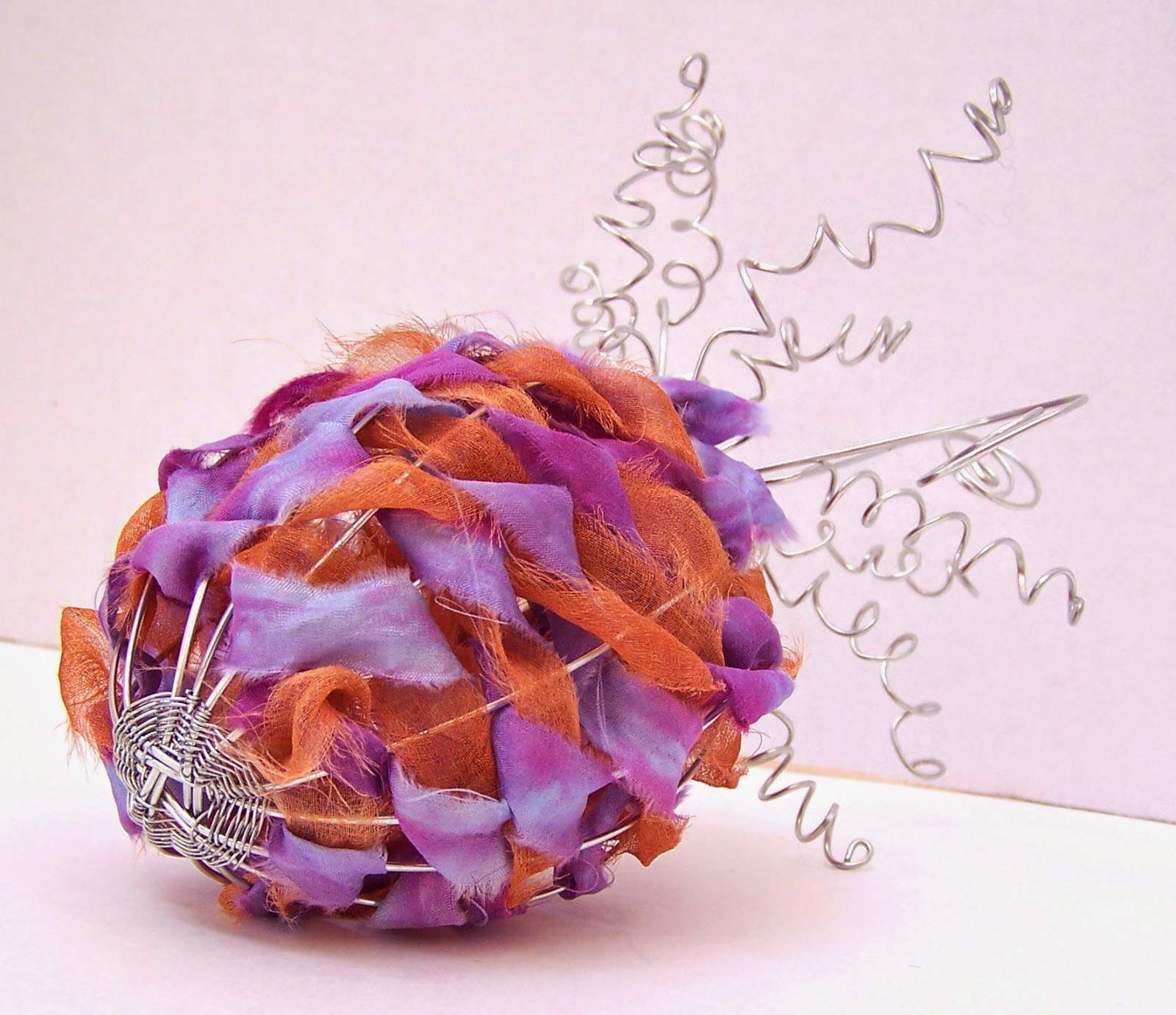 Wire and Fiber Art by Christie Minchew