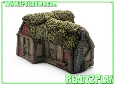 EPS-EMP04 - Fantasy/Medieval 'T' building - £9.95
