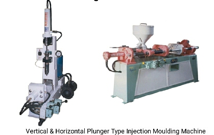 Plunger Type Injection Moulding Machine