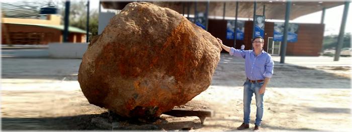 meteorito de 30 toneladas descoberto na argentina