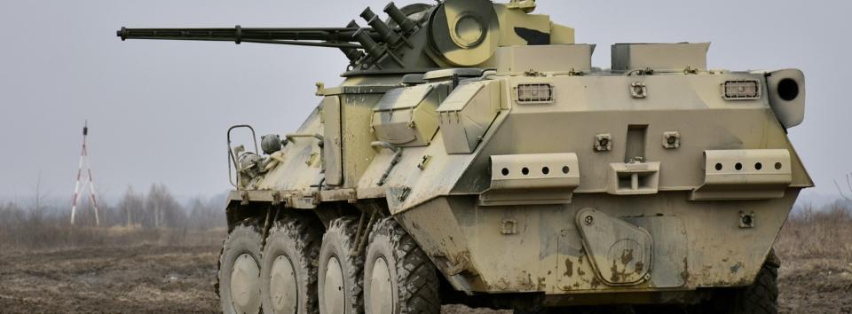 Київський бронетанковий завод отримав контракт на військовий ремонт БТР-3