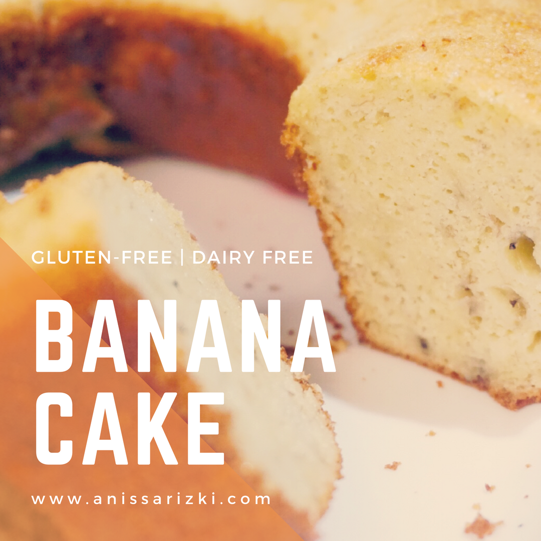 Gluten Free Banana Cake Bolu Pisang Tanpa Gluten A