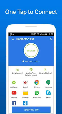 Hotspot Shield VPN ELITE for Android 5.0.9 Apk Full Versi Terbaru