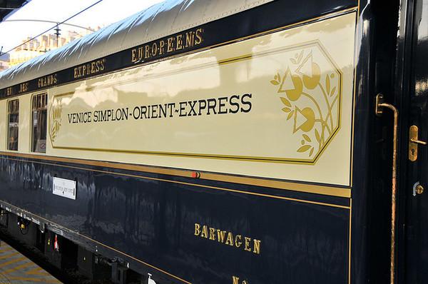 Tren Venice Simplon Orient Express
