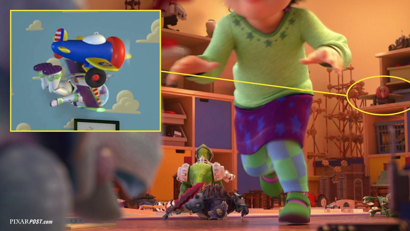 Pixar Cars Bedroom Wallpaper In Depth Look At The Easter Eggs Hidden In Toy Story That