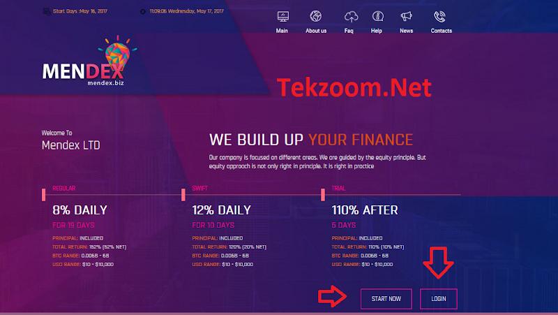[SCAM] Review Mendex - Lãi 12% hằng ngày - Đầu tư tối thiểu 10$ - Thanh toán Manual