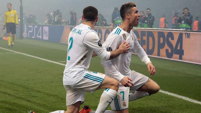 Real Madrid Kalahkan Eibar Dengan Skor 1-2