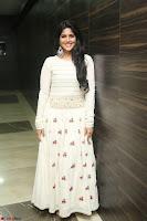 Megha Akash in beautiful White Anarkali Dress at Pre release function of Movie LIE ~ Celebrities Galleries 059.JPG