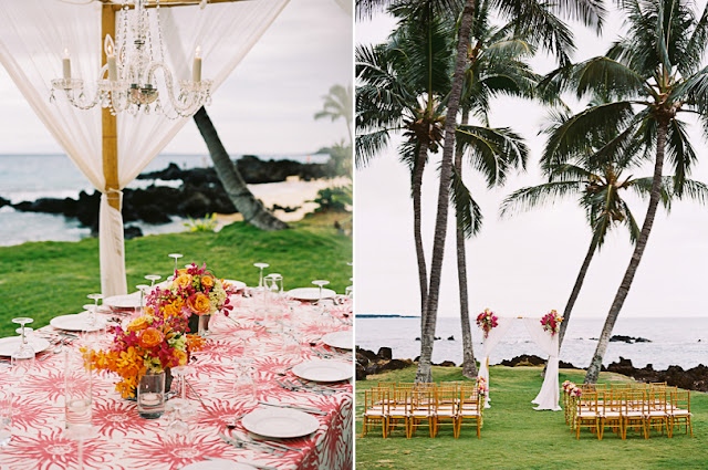 Maui wedding at the White Orchid Wedding House
