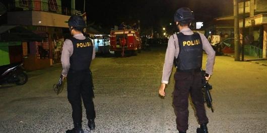 Meledakkan Diri, Jasad Istri Terduga Teroris Dievakuasi ke RS Sibolga