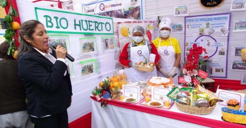 QALI WARMA: Con total éxito se desarrolló el VI Encuentro Regional de Comités de Alimentación Escolar en Ica - www.qaliwarma.gob.pe