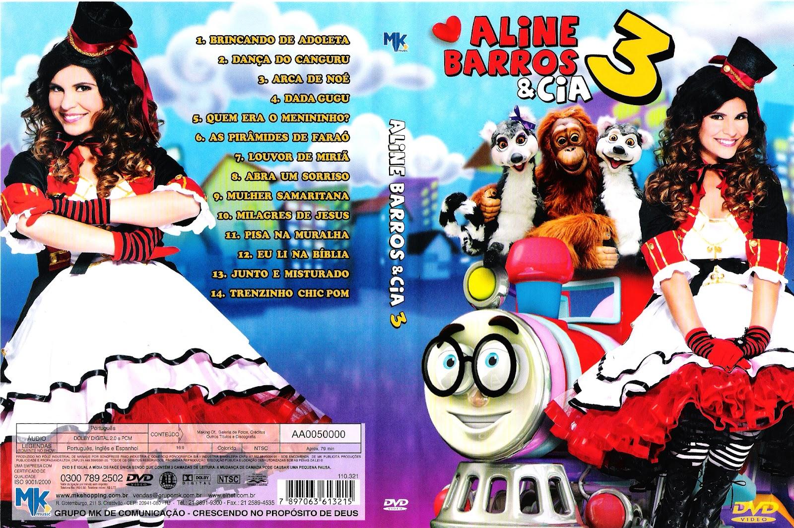 aline barros e cia 3 dvd avi
