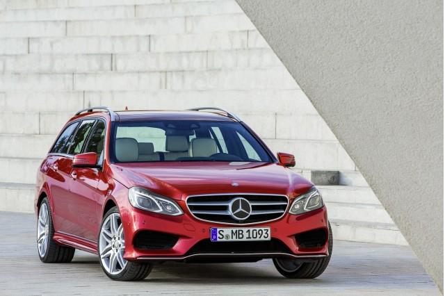 2014 Mercedes-Benz E-Class Front Design