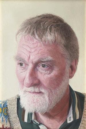 by Shona Chew, rostros tristes, retrato, pinturas realistas