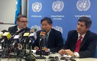 UN visit 'Gota's Camp' mystery torment site in Sri Lanka naval force base