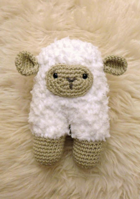 pattern crochet sheep blankie
