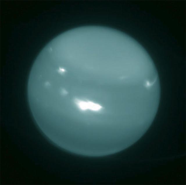 Tempestade em Urano - Observatório Keck